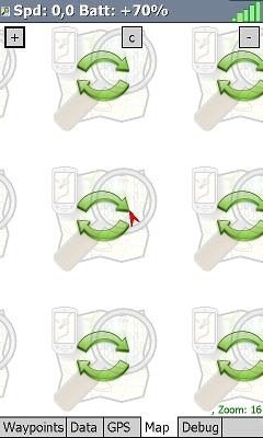 Mapa zatiaľ bez mapových podkladov