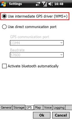 Spôsob komunikácie s GPS